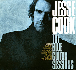 The Blue Guitar Sessions CD cover.