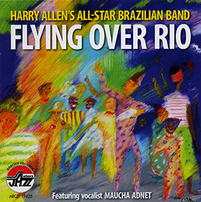Flying Over Rio CD cover.