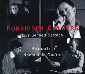 Forbidden Colours Live Bennett Session [EP] CD cover.