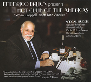 Federico Britos presents Hot Club of the Americas CD cover.