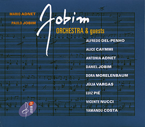 Jobim: Orchestra & Guests CD cover.