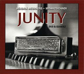 Junity Duo & Quartet CD cover.
