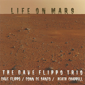 Life on Mars CD cover.