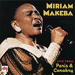 Miriam Makeba –Live CD cover.