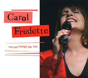 No Sad Songs for Me CD cover.