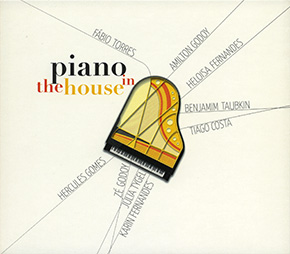 Piano in the House CD cover.