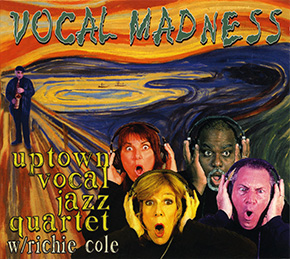 Vocal Madness CD cover.